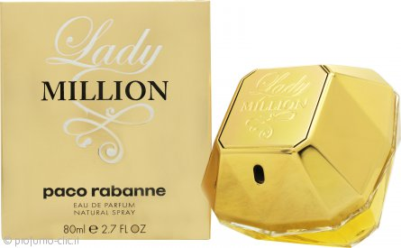 Paco Rabanne Lady Million Eau de Parfum 80ml Spray