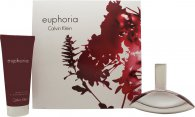 Calvin Klein Euphoria Confezione Regalo 50ml EDP + 100ml Lozione Corpo